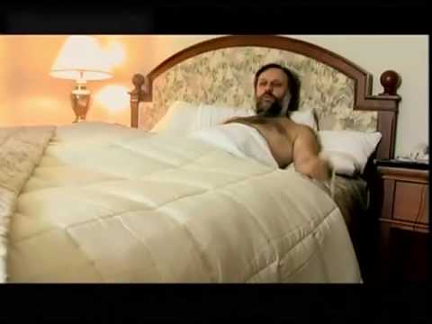 A Shirtless Slavoj Žižek Explains the Purpose of Philosophy from the Comfort of His Bed