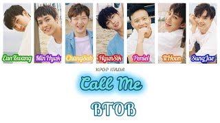 Btob - Call Me  Color Coded/sub Ita