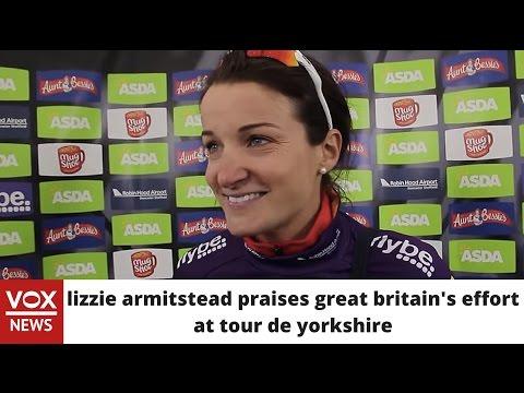 Lizzie Armitstead praises Great Britain