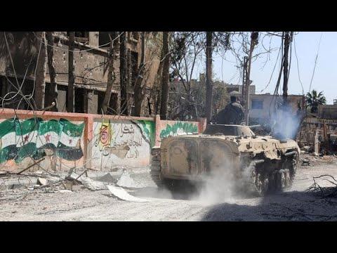 قوات النظام تسيطر على سقبا وكفربطنا في جنوب الغوطة  - نشر قبل 1 ساعة