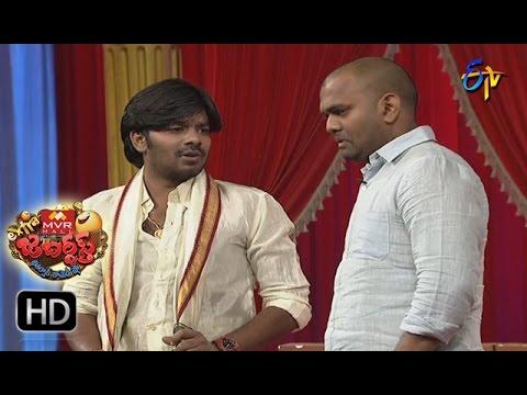 Sudigaali Sudheer Performance | Extra Jabardsth | 14th April 2017 | ETV Telugu