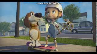 Жесть: МАТ в мультфильме Большой собачий побег!-Прикол