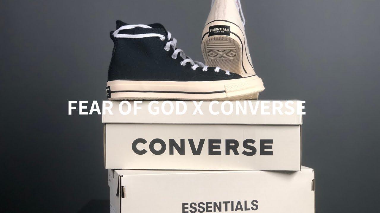 FEAR OF GOD CONVERSE REVIEW \u0026 ON FEET l
