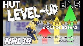 BRONZE TEAM GAMEPLAY IN HUT! HUT LEVEL-UP! Episode 5 (NHL 19)