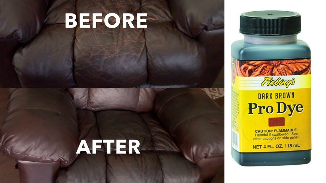 How To Dye Leather Sofas Chairs
