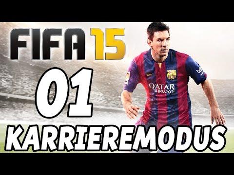 Let's Play Fifa 15 Karrieremodus Gameplay German Deutsch Part 1 - Dortmund vs. Leverkusen