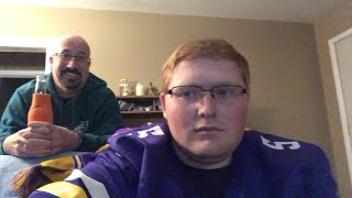 Reacting to Diggs catch live! *emotional Vikings fan cries*