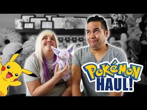 Big Pokemon store haul from Japan! Mystery shirts and more! | Crane Couple In Japan