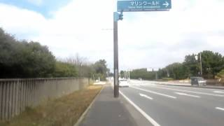 自転車で大岳[おおたけ]海水浴場に行く。(第2部)