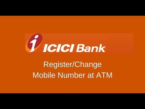 ICICI Bank Change/Register Mobile Number
