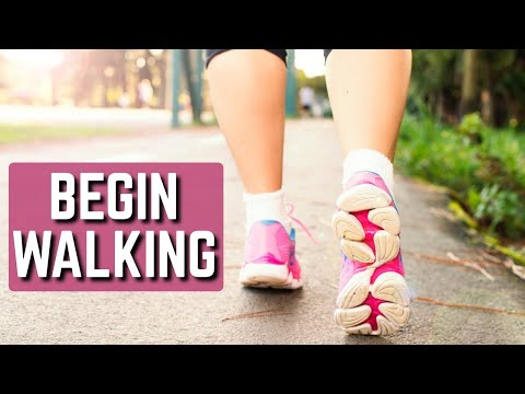 First Step to Stopping Back Pain/Sciatica. BEGIN WALKING