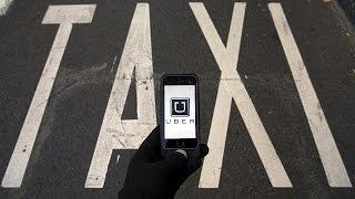 Uber – такси: кто кого?(Просто, удобно, а главное – недорого. Благодаря мобильному приложению Uber, пассажир может связаться с водите..., 2015-06-25T17:43:27.000Z)