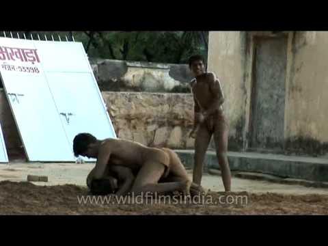 Kushti - traditional Indian wrestling