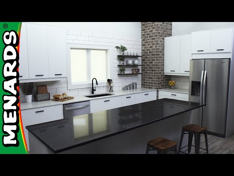 Quartz Countertop Installation - Menards