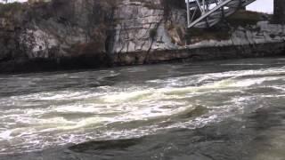 Bay Of Fundy reversing falls whirlpool