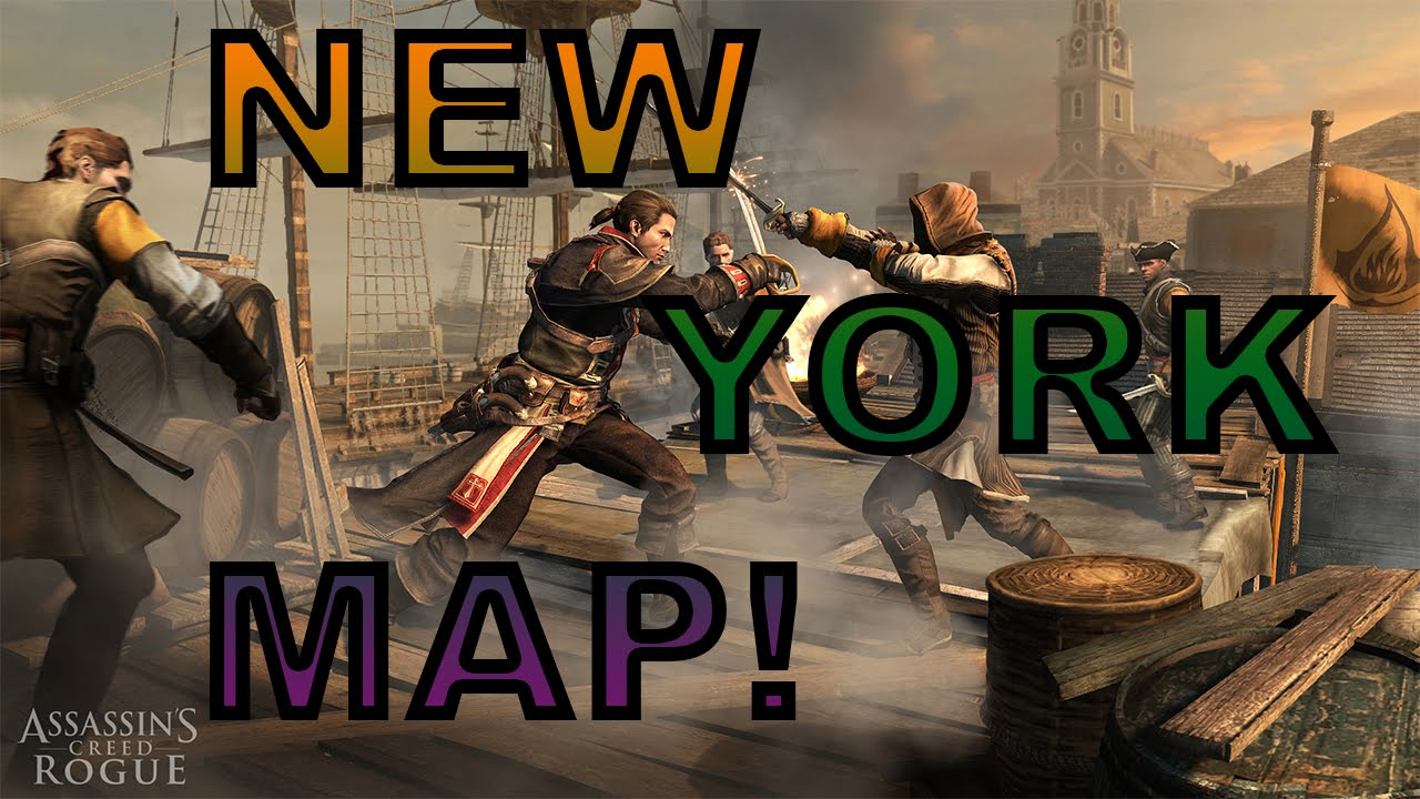 Assassin S Creed Rogue New York Map Revealed Breakdown Youtube