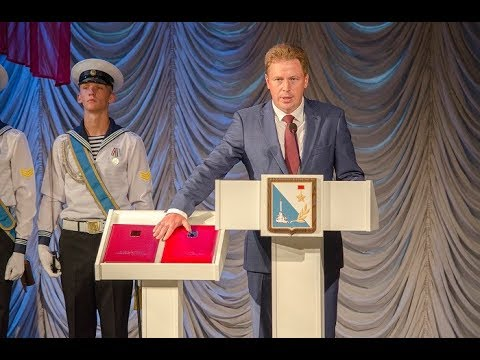 Дмитрий Овсянников даёт присягу – Севастополь