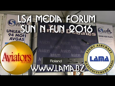Aviation Writers Panel Debate Sun N Fun 2016