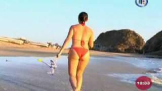 Tàbata Jalil En Bikini Desde Huatulco