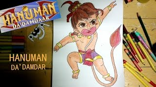 How To Draw Hanuman Da