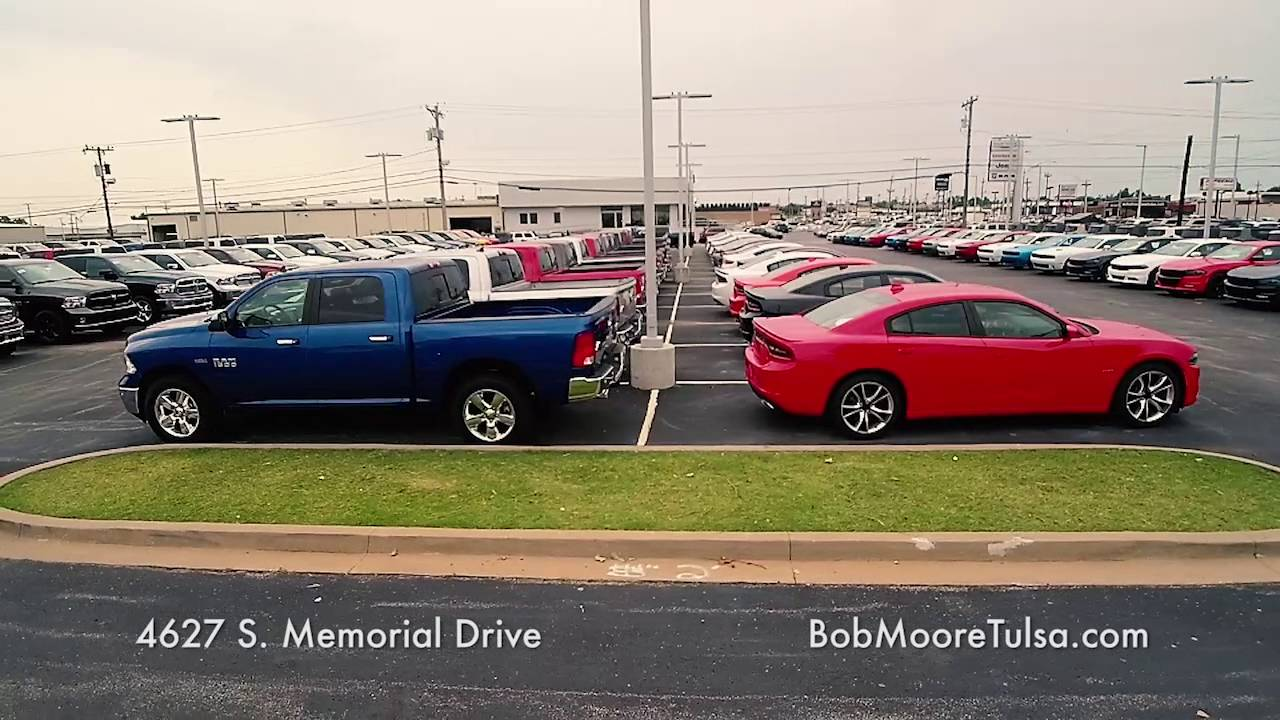 Bob Moore Chrysler Dodge Jeep Ram Of Tulsa Drone Footage
