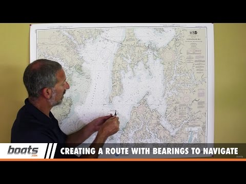 Basic Boat Navigation: Creating a Route with Bearings to Navigate By
