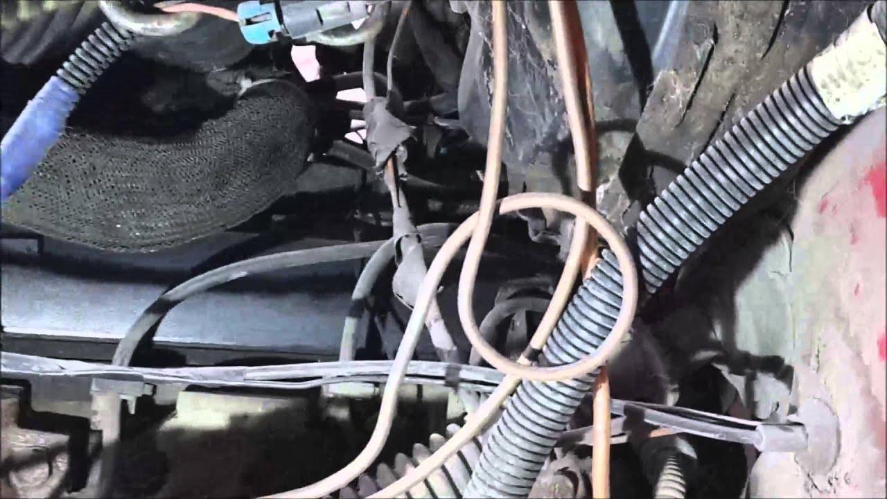 Замена топливных трубок на блейзере часть 1