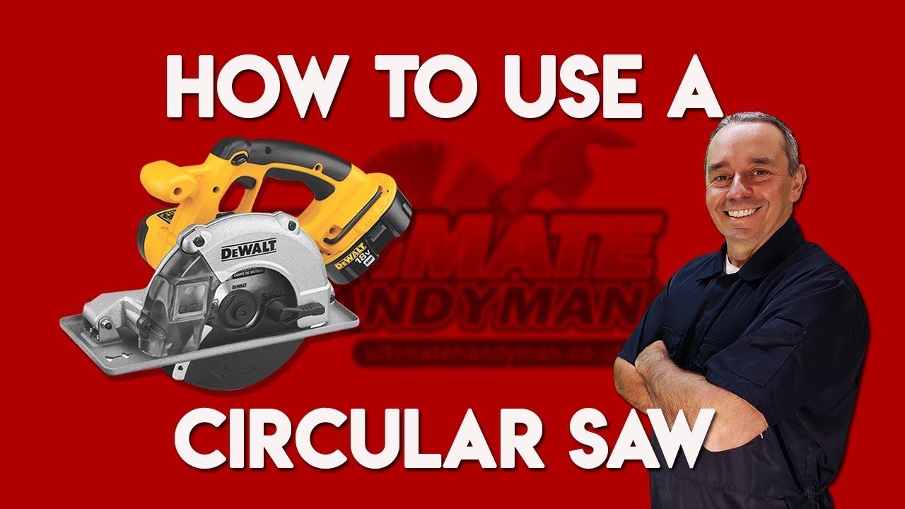 How to use a circular saw youtube how to use a circular saw keyboard keysfo Choice Image