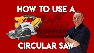Gambar cover How to use a circular saw