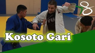 BASIC ONE HANDED JUDO THROW - DEALING WITH A STIFF ARM - TRAVIS STEVENS