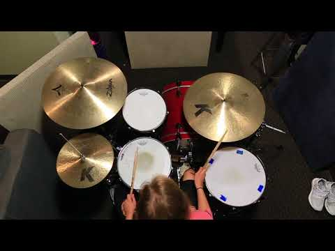 "COS Drums Tutorial for ""Trust"" by Hillsong Y&F"