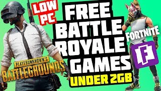 TOP 5 *BEST* !! *FREE*!! TO PLAY BATTLE ROYALE PC GAMES (LIKE PUBG AND FORTNITE) 2019 !!!!