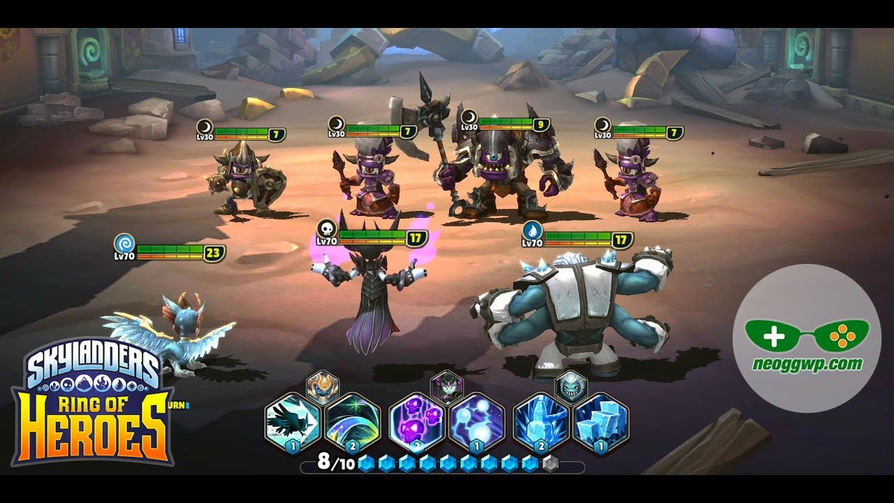 Skylanders Ring Of Heroes Android Ios Apk Role Playing Gameplay Chapter 1