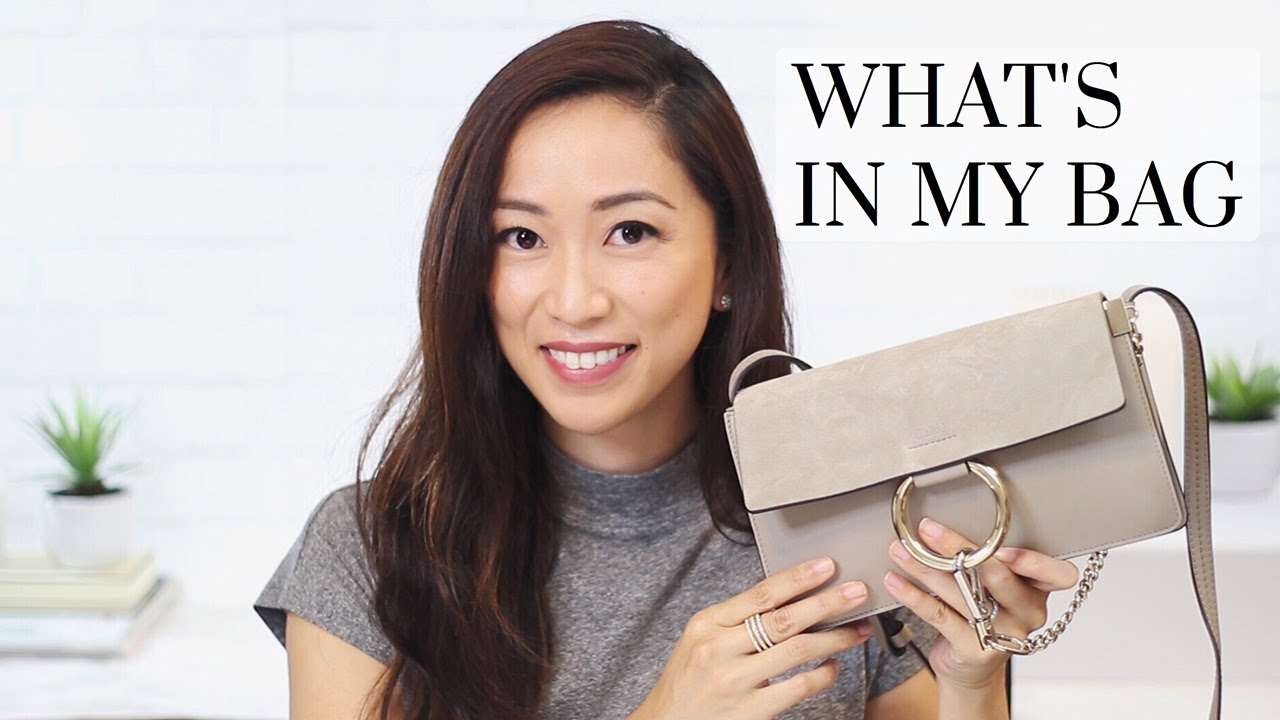 7cc7800c What's In My Bag? - Chloe Faye | LookMazing