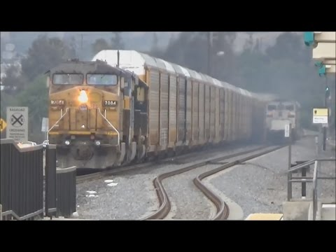 Railfanning Jurupa Valley / Pedley - 5/18/15