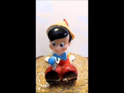 Pinocchio Music Box