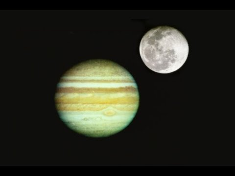 LIVE TELESCOPE! The Moon And Jupiter Carpool In The Night Sky  April 30, 2018