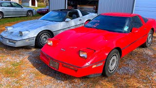 Free Florida Swamp 1985 Chevy Corvette Rescue gets $1650 IAA Parts Car!! PT 3