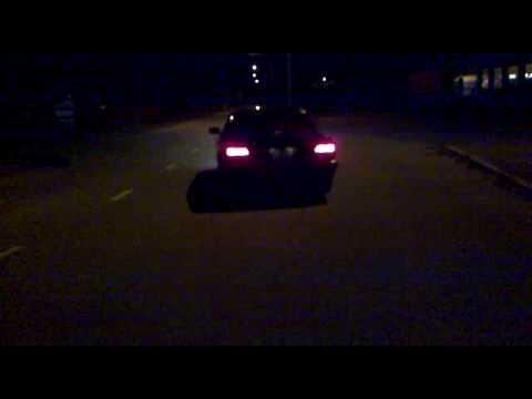 BMW 740 Custom Exhaust sound