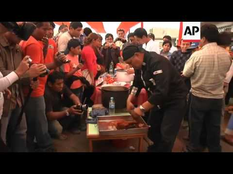 Cat meat served at annual religious festival