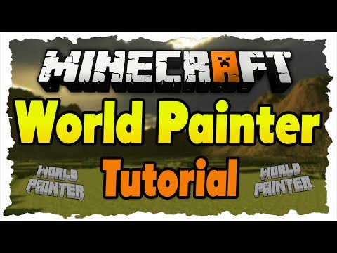 Minecraft World Painter Tutorial - Epische Welten