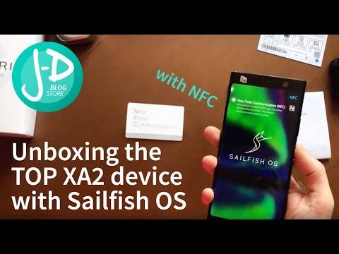 Unboxing The Xperia XA2 Plus 64GB With Sailfish OS,  Some Comparison With Xperia X, And... NFC.