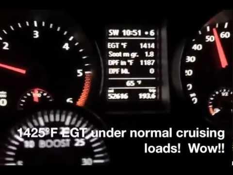 """2009-2014 VW TDI """"Clean Diesel"""" Exhaust Regenerating"""