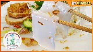 Cách Làm BÁNH ƯỚT BÁNH CUỐN Bằng Bánh Tráng VN Không Cần Pha Bột Hay Tráng Chảo -Steamed Rice Rolls