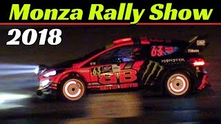 Monza Rally Show 2018 - Friday, Day 2 - Night Stage, Glowing Brakes & Exhaust Flames Festival!