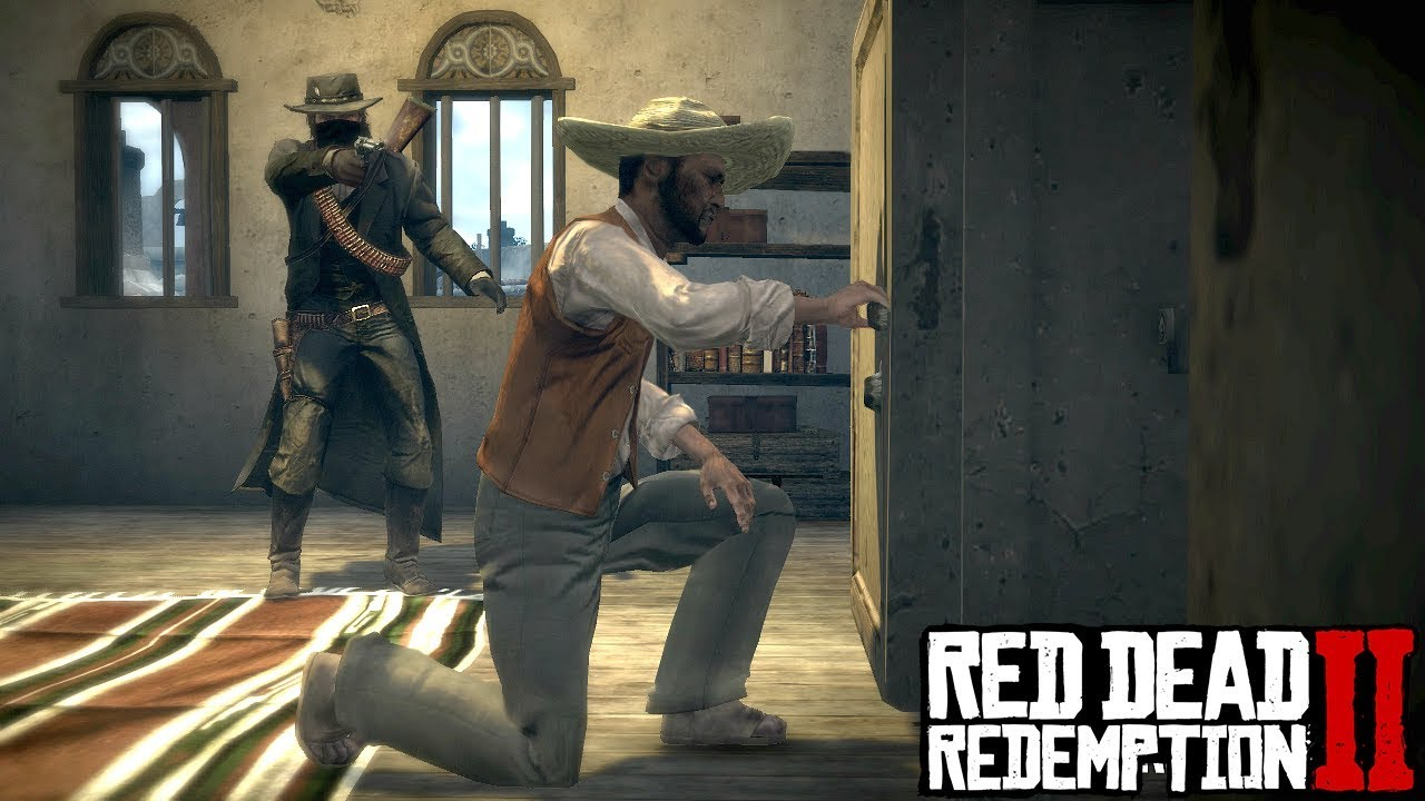 Robbing The Doctors Office Red Dead Redemption 2 Walkthrough