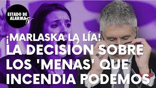 """Marlaska incendia Podemos tras esta decisión sobre los 'menas' de Ceuta: """"Repatriación a su entorno"""""""
