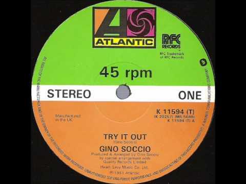 Gino Soccio Try It Out Original 12'' Version