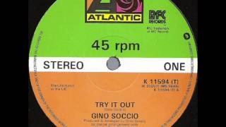 Gino Soccio - Try It Out (Original 12