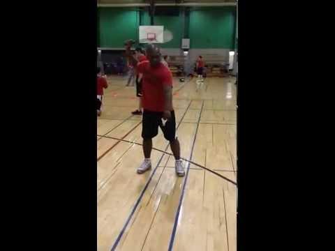 Post Badminton Serve